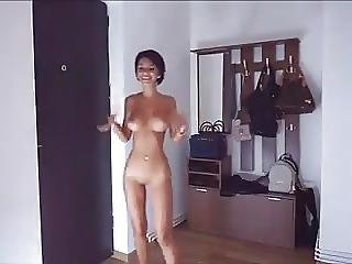 Aleigha james answer pizza delivery naked 2