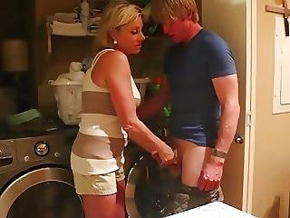 Skanky Mom Caught A Panty Sniffer