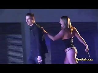 Flexible Lap Dance On Venus Show Stage