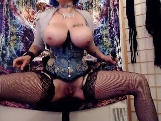 Big Titted Slut Having Fun Squirting
