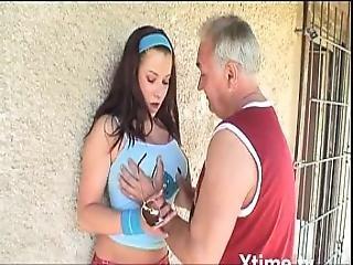 amatoriale, nonnina, hardcore, milf, vecchi, uomo maturo, Adolescente