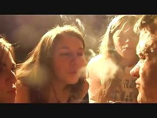 Smoking Teen Femdoms Spitting And Smoke Suffocation !