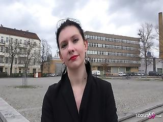 German Scout Art Student Anna Talk To Anal Casting Fuck