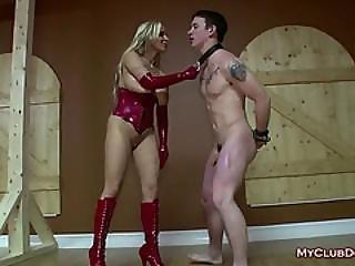 Bad Bitch Slave Spanked By Mistress