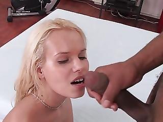 Black Guy Fucks Sweet Blonde