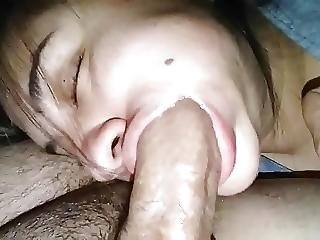 Cheating Blowjob