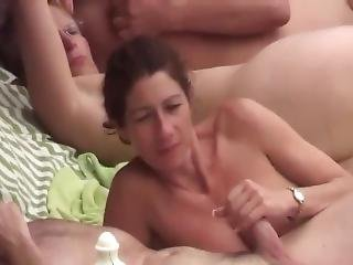 amatør, strand, blowjob, hardcore, offentlig, sex