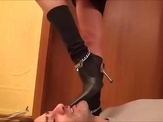 Boots Licking Fetish Heels