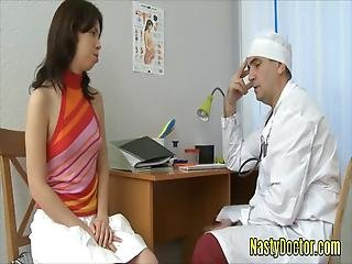 Super Hot Teen Patient Gets Her Ass Banged Hard With Her Doctors Big Cock