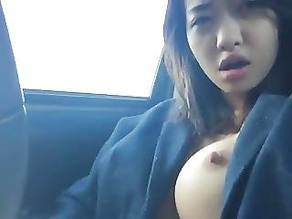 Hot Asian Masturbates Great Tits N Nipples