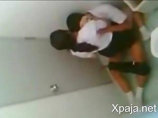 School Teens Caught Having Sex In Bathroom