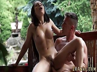 Babe Gets Anal Fucked