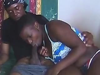 African Slaves Blowing Throbbing Cocks At Party