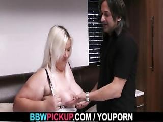 Fuck Date With Lovely Blonde Bbw