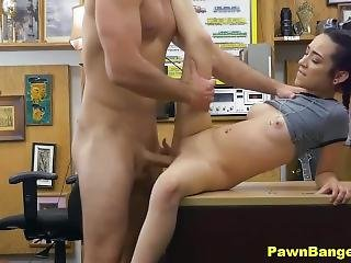 Surprised Manager Fucked By Hot Teen Babe In Revenge On Her Ex