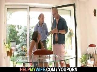Sexy Young Wife Cucks In The Countryhouse