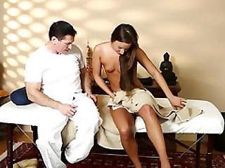 Poor Babes Penetrated Hard In Special Masseur