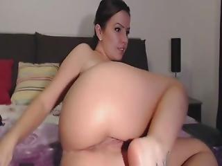 Girl With Beautiful Ass And Anus