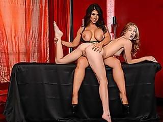 Slutty Naughty Babe Arya Fae Fucking Big Stiff Cock