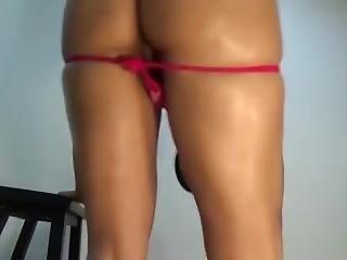 Red Roselacubana Nude Twerk