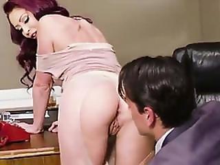 Sexy Monique Alexander Gives Her Boss Ryan Driller An Erotic Sex