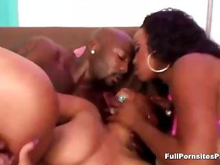 Two Black Whores Share A Bbc