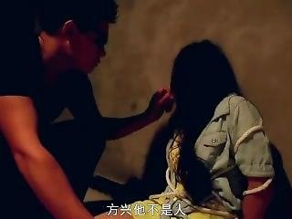 Very Cute Chinese Girl Tape Gagged