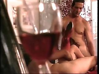 Little Wine And A Lot Of Cock