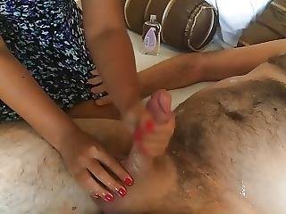 Wanking Another Guy For Me While I Film
