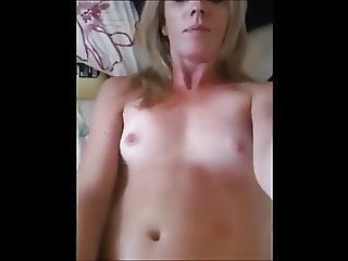 Milf Masturbates Before Gangbanged
