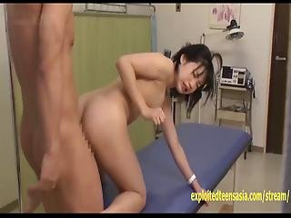 Jav Idol Nurse Fucked In Gyno Chair Flabby Ass And Big Tits Sexy Teen Loves Being Fucked Hard