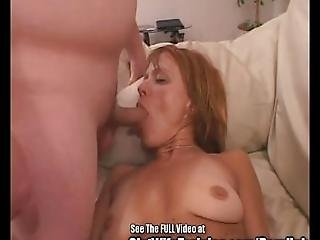 Freckly Red Head Wife Screwed By Two Horny Pricks%21