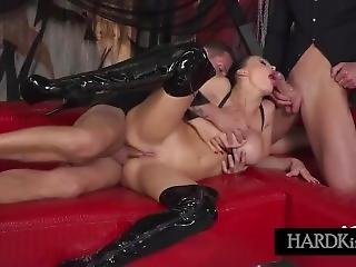 Aletta Ocean - Black Leather Double Pleasure
