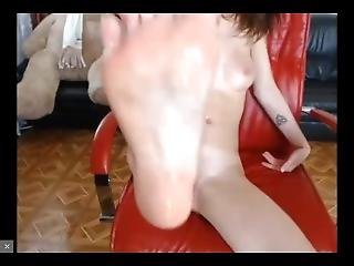 Skinny Camgirl Intense Cums