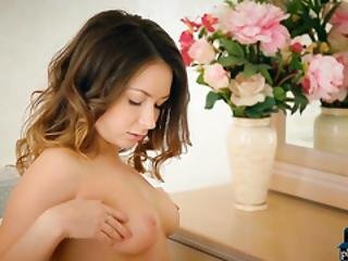 Simply Perfect Russian Beauty Alexa Day Gets Naked