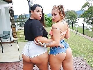 Letsdoeit - Sexy Big Ass Latinas Fucking For Fun