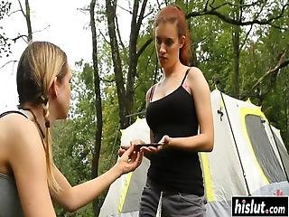 Cherry Torn And Other Girls Got Tied Up And Tortured By A Stranger Outdoors