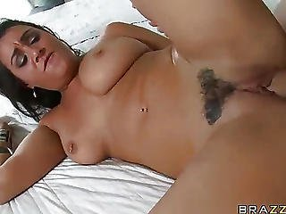 Porn Star Got Drunk From My Long Dick