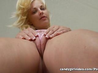 Blonde, Cameltoe, Fetish, Pink, Reality, Thong