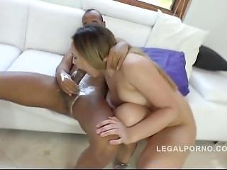Briana Bounce - Double Anal Penetration With Cream