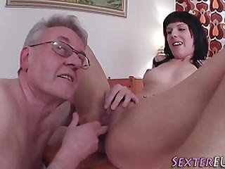 German Fucks Old Dude