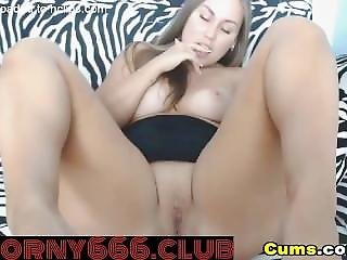 Cutie From Tumblr Rides Dildo And Talks Dirty On Horny666.club