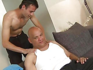 Atm Twink Bareback Drilled By Aged Bear