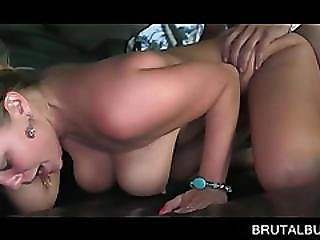 Busty Teen Choked And Deep Pounded In Bus