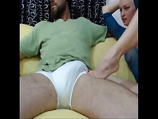 amatør, stor cock, blond, blowjob, tissemand, fødder, fod, fodjob, kneppe, handjob, webcam