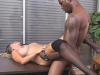 Big Titted Blonde Cougar Lexxi Lash Hungry For Bbc