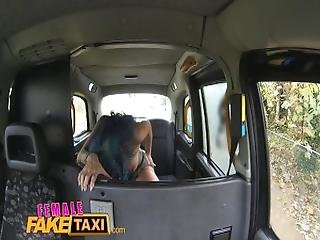 Femalefaketaxi Sexy Cabbie With Big Tits Loves A Big Black Cock