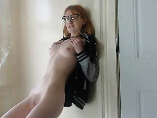 Varsity Slut Earns Extra Credit For School