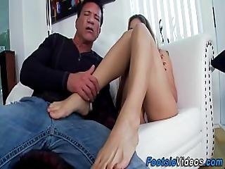 Cougars Feet Get Spunked