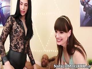 Trust In Naughty Shemales Like Natalie Mars, Alexa Scout And Shiri To Do Their Best To Pleasure Bbc Their Reward Is A Mouthful Of Cum!